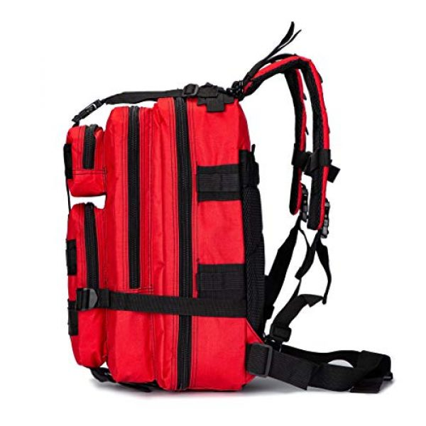 Jipemtra Tactical Backpack 3 Jipemtra Tactical First Aid Bag MOLLE EMT IFAK Backpack Trauma First Aid Responder Medical Backpack Utility Bag Military Tactical Rucksack Emergency