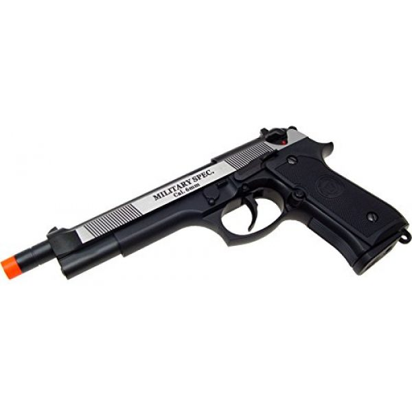 WE Airsoft Pistol 2 WE m92 long-a gas/co2 blowback full metal - black(Airsoft Gun)