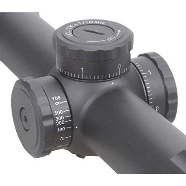 Vector Optics Rifle Scope 4 Vector Optics Marksman 4.5-18x50mm, 1/10 MIL, 30mm Tube, Second Focal Plane (SFP) Hunting Riflescope