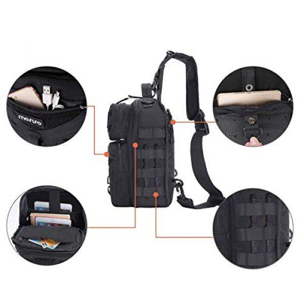 MOSISO Tactical Backpack 5 MOSISO Tactical Backpack & Slingbag