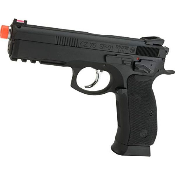 Evike Airsoft Pistol 1 Evike CZ75 SP-01 Shadow Gas Blowback Airsoft Pistol by ASG