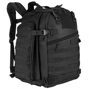 ProCase Tactical Backpack 1 ProCase 46L Military Tactical Backpack, Large 3 Day Outdoor Military Army Assault Pack Molle Bag for Hunting, Trekking, Camping and Other Outdoor Activities