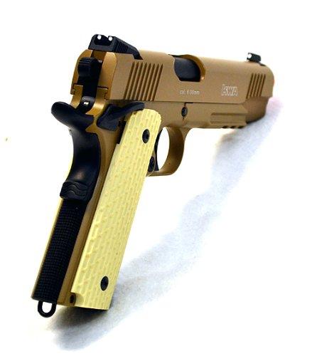KWA Airsoft Pistol 4 KWA airsoft m1911 ptp mkii gas blow back pistol ns2 desert(Airsoft Gun)