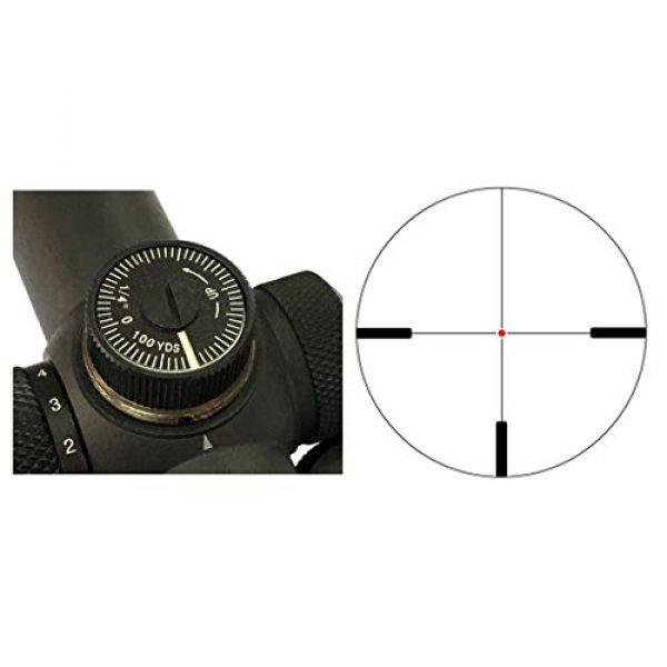 Vector Optics Rifle Scope 2 Vector Optics 3-15x50mm Second Focal Plane (SFP) 1/4 MOA Hunting Riflescope with Illuminated Dot Reticle, 30mm Mount Rings
