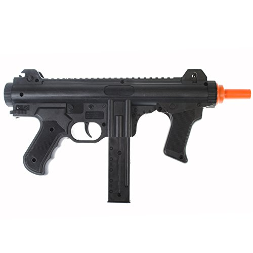 Dark Ops Airsoft Airsoft Rifle 2 Dark Ops Airsoft Spring Power P1238 Mini SMG Tactical Soft Air Gun Pistol + BBS