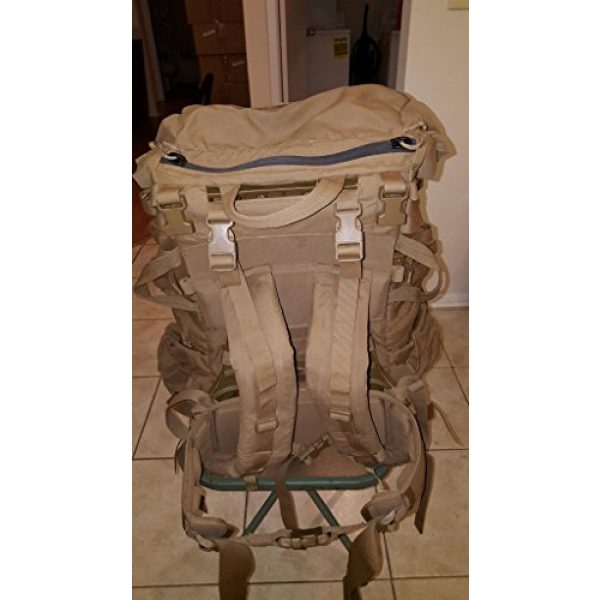 Eagle Tactical Backpack 6 Eagle FILBE USMC Main Pack Coyote Brown with Frame and Waist Belt