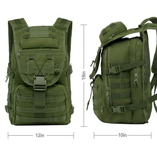 T1FE 1SFE Tactical Backpack 5 T1FE 1SFE Tactical Military Backpack Molle Backpack 35L Tactical Survival Bag Bugout Assault Pack Laptop Rucksack