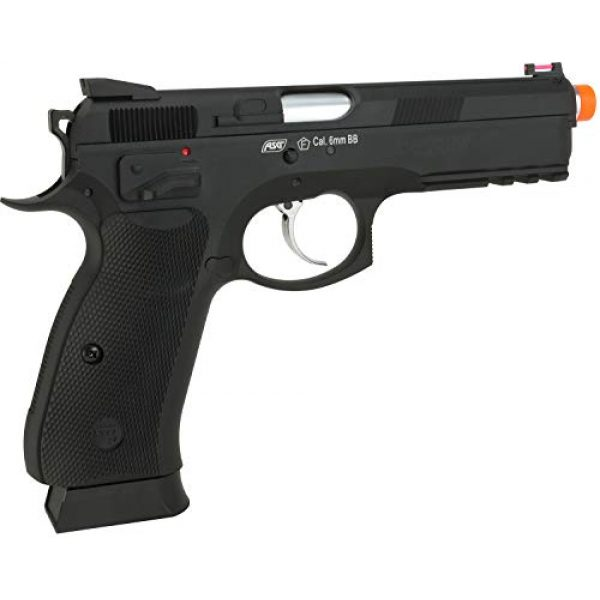 Evike Airsoft Pistol 2 Evike CZ75 SP-01 Shadow Gas Blowback Airsoft Pistol by ASG