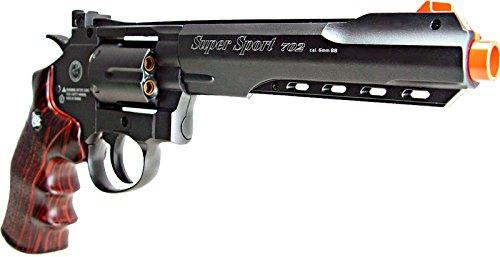 WG Airsoft Pistol 5 WG model-702b 6 revolver full metal co2 nbb included 6 revolver holster-nylon(Airsoft Gun)
