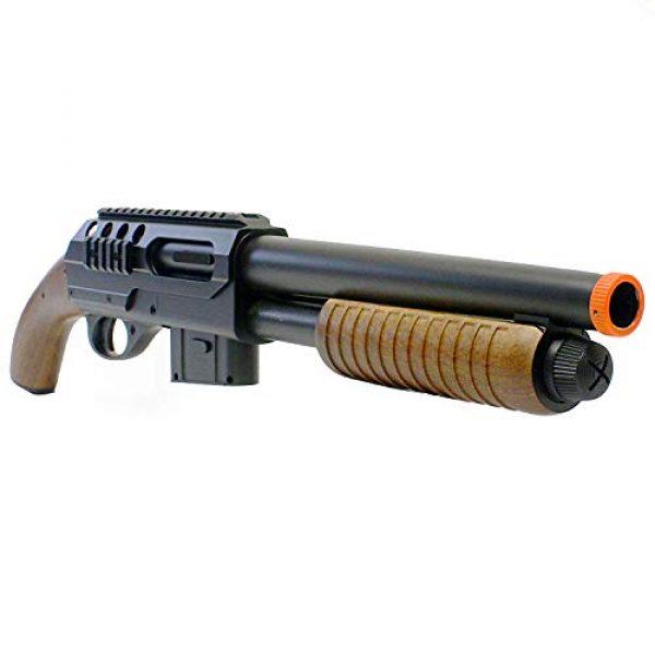 BBTac Airsoft Shotgun 1 BBTac BT-M47 Sawed-Off Style Spring Shotgun, Black