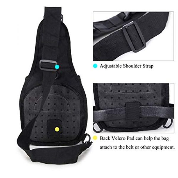 Dunnta Tactical Backpack 3 Dunnta Tactical Sling bag, Military Sport Bag EDC Molle Pack Daypack for Camping, Hiking, Trekking, Rover Sling
