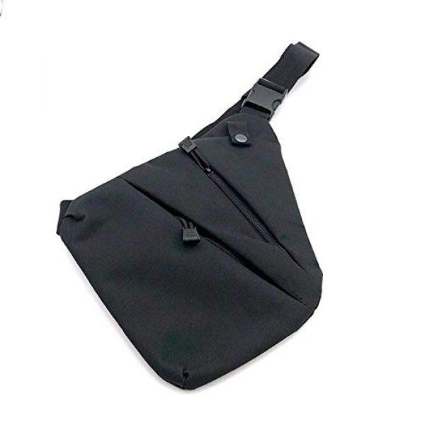 LIVIQILY Tactical Backpack 1 Men's Shoulder Bag Gun Case Single Bag Tactical Gun Bag Pistol Hand Soft Pistol Cases