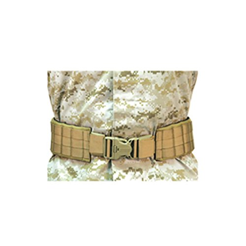 BLACKHAWK Tactical Belt 1 BLACKHAWK Padded Patrol Belt & Pad Strike 40-44in Coyote 41PBT2DE