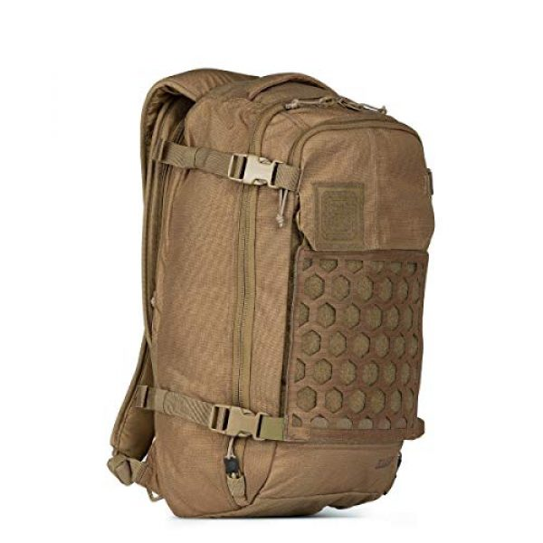 5.11 Tactical Backpack 3 5.11 Tactical Men's AMP12 Essential Backpack, Includes Hexgrid 9x9 Gear Set, 25 Liters, 1050D Nylon, Style 56392