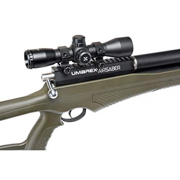 Umarex Air Rifle 5 Umarex AirSaber PCP Powered Arrow Gun Air Rifle with 3 Carbon Fiber Arrows