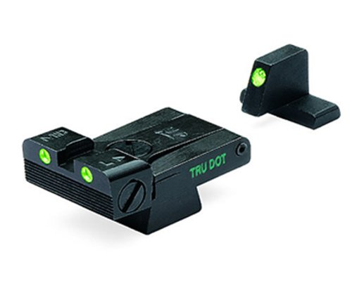 Meprolight Handgun Sight 1 Meprolight Heckler & Koch Tru-Dot Night Sight for USP full size .40 and .45 caliber, Tactical & Expert. Adjustable set with green rear and front sight