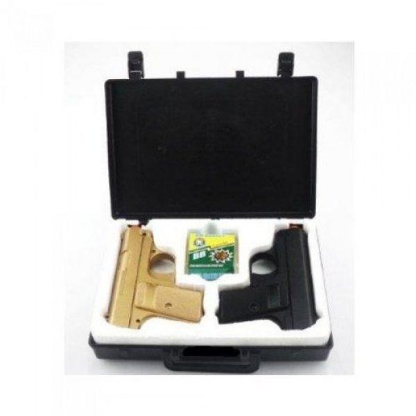 Velocity Airsoft Airsoft Pistol 2 p328 twin pocket compact spring airsoft pistols fps-200 (colors may vary)(Airsoft Gun)