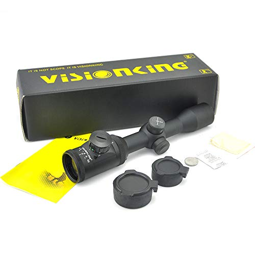 Visionking Rifle Scope 2 Visionking Rifle Scope 1.5-5x32 Riflescope Wide Angle Hunting Tactical Compact