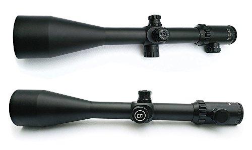 SECOZOOM Rifle Scope 6 SECOZOOM Optics ED Lens Sharp Clear View 4-50X75 Mil-dot Glass-etched Matte SF ED Glass FMC Long Range Riflescope