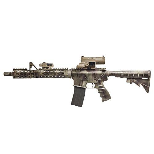 VISM Rifle Scope 4 Vism Eco Mod3 4X Magnification 34mm Scope, Black