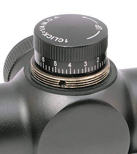 Hammers Rifle Scope 2 Hammers Mil-Dot Rifle Scope 3-9x32 AO Parallax Adjustable Objective with 22 Dovetail Rings