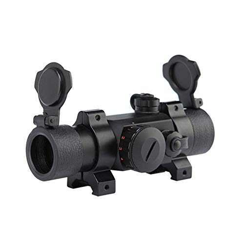 DJym Rifle Scope 1 DJym Non-Magnification Speed Sight Mirror HD Red Dot Aiming Blue Film Shockproof Waterproof Inner Red Dot Sight