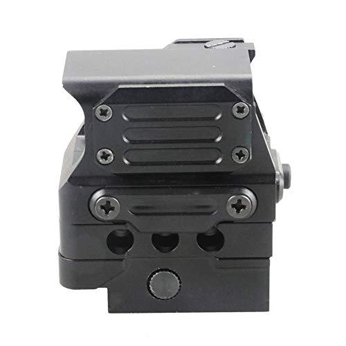 DJym Rifle Scope 6 DJym Square Red Dot Sight, Universal Scope 7 File Lighting Adjustment