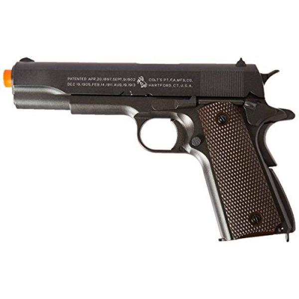 Colt Airsoft Pistol 1 Colt 100th Anniversary 1911 CO2 Full Metal Airsoft Pistol