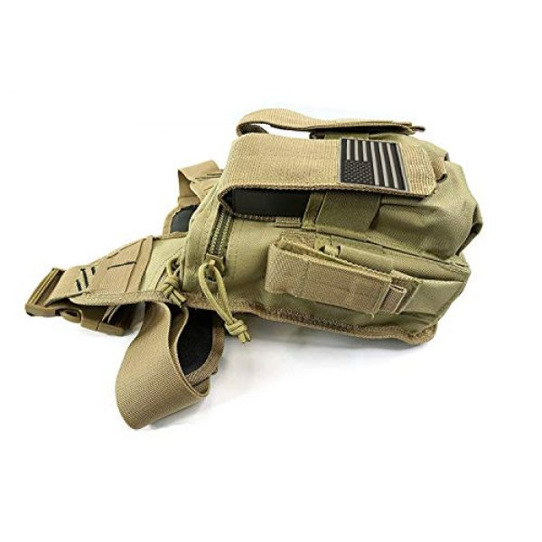 K-Cliffs Tactical Backpack 3 Rapid Deployment Push Pack Tactical Range Bag Responders Utility Sling Bags Tan