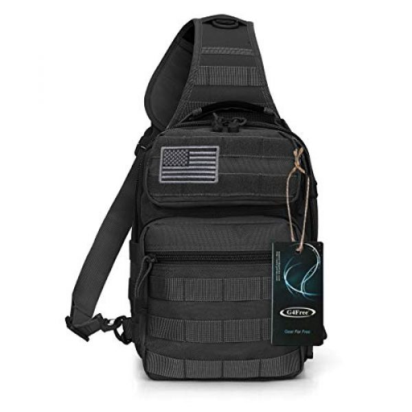 G4Free Tactical Backpack 2 G4Free Tactical Sling Bag Backpack Military Rover Shoulder Sling Pack Molle EDC Small Crossbody Chest Pack