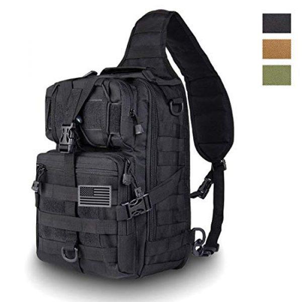 HAOMUK Tactical Backpack 1 Tactical Sling Bag Pack Military Rover Shoulder Sling Backpack EDC Molle Assault Range Bag