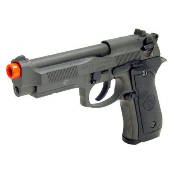 HFC Airsoft Pistol 2 HFC full metal gas powered blowback airsoft pistol m9 with gun case new 320 fps(Airsoft Gun)