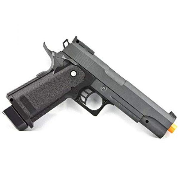 Billybee Airsoft Pistol 2 Billybee Full Size Metal Airsoft Spring Pistol Hand Gun w/Hard Shell Holster 6mm BB BBS