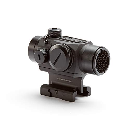 Hi-Lux Optics Rifle Scope 5 Hi-Lux Optics MM-2 Dot Sight Absolute Cowitness Mount, Red