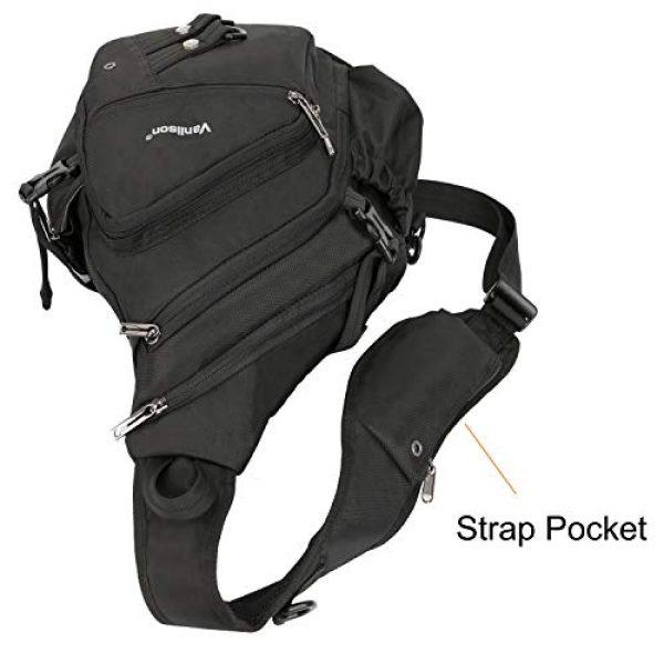 Vanlison Tactical Backpack 7 Vanlison Sling Backpacks, Sling Chest Bags Shoulder Crossbody Bags for Men Women Outdoor Travel Walking Dog Running