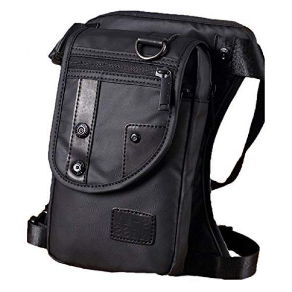 Lumpna Tactical Backpack 1 Mens Thigh Bag, Waterproof Oxford Drop Leg Bag, Mens Military Tactical Retro Sports Racing Durable Outdoor Waist Bag, Messenger Shoulder Bags for Outdoor Bike Cycling Hiking