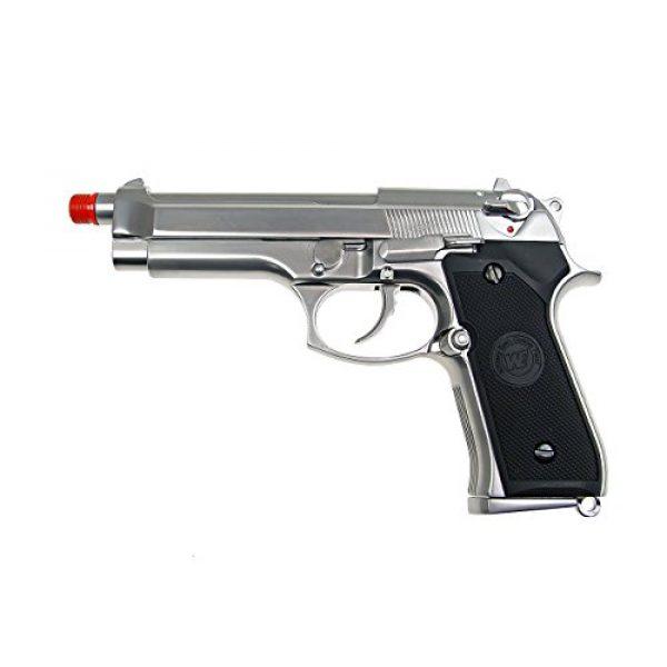 WE Airsoft Pistol 1 WE m92 gas/co2 blowback full metal - silver(Airsoft Gun)