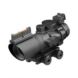 TACFUN Rifle Scope 1 TACFUN - AIM Prismatic Series 4X32MM Scope MIL-DOT Reticle