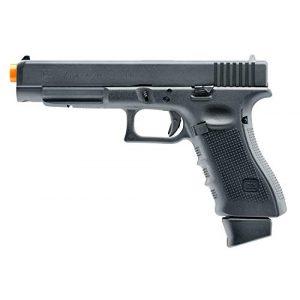 Elite Force Airsoft Pistol 1 Elite Force Glock 34 Gen4 Blowback CO2 Powered 6mm BB Pistol Airsoft Gun, Black, one Size