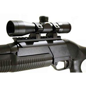 TRINITY Rifle Scope 2 Trinity 4x32 mildot Reticle Aluminum Black Picatinny Weaver Mount Adapter Tactical Optics Hunting Scope Single Rail Base for Stevens 320