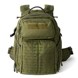 MT Tactical Backpack 1 MT Adventure 48H Military Rucksack MOLLE Tactical Assault Hydration Backpack