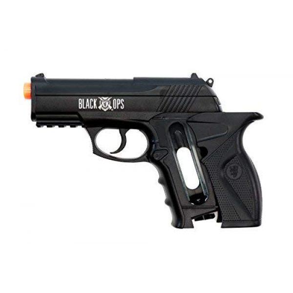 Black Ops Airsoft Pistol 4 Black Ops BOA Semi Automatic Airsoft Pistol - C02 Powered Airsoft BB Pistol - Shoot 6mm BBs
