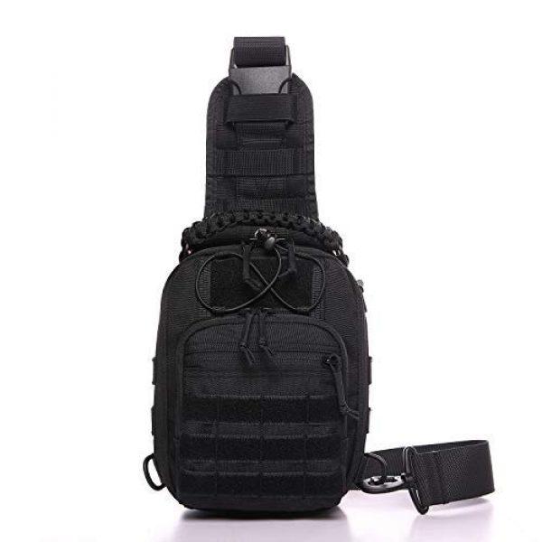 ANTARCTICA Tactical Backpack 2 ANTARCTICA Tactical Sling Bag Pack Military Rover Shoulder Bag Molle Assault Range Bag Backpack 1050D