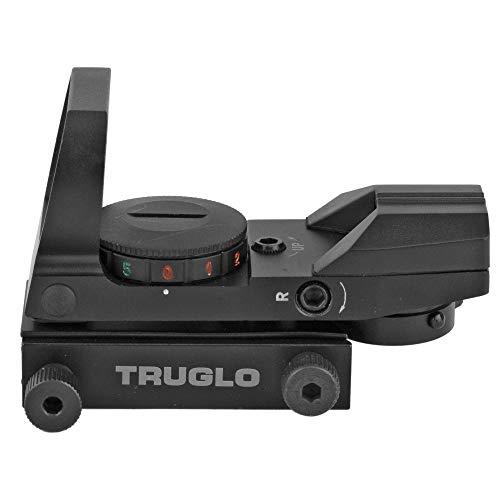TRUGLO Rifle Scope 5 TRUGLO Dual Color Multi Reticle Open Red Dot Sight (TG8360B)