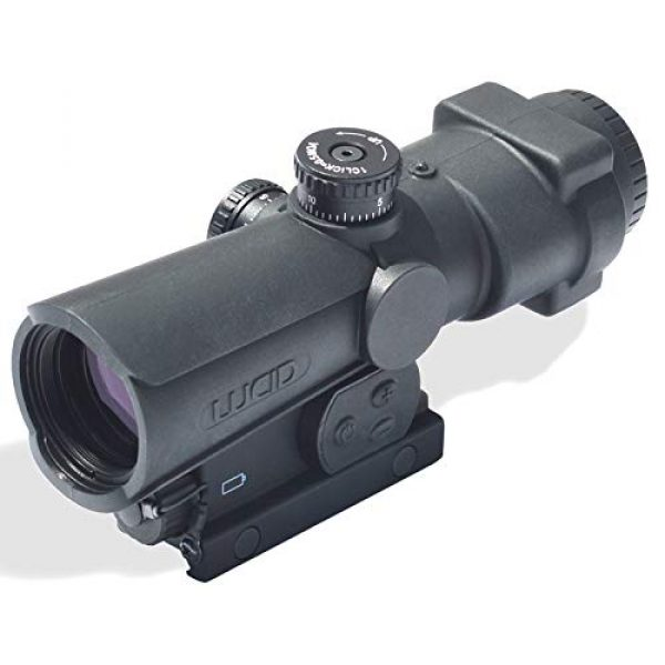 LUCID Rifle Scope 2 Lucid 4x Prismatic Weapons Optic with P7 Reticle