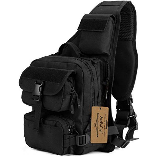 ArcEnCiel Tactical Backpack 1 ArcEnCiel Tactical Sling Pack Military Molle Chest Crossbody Shoulder Bags Motorcycle Backpack