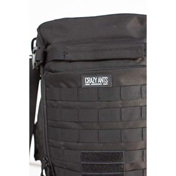 CRAZY ANTS Tactical Backpack 3 CRAZY ANTS Military Tactical Backpack Hiking Camping Shoulder Bag Upgraded Version
