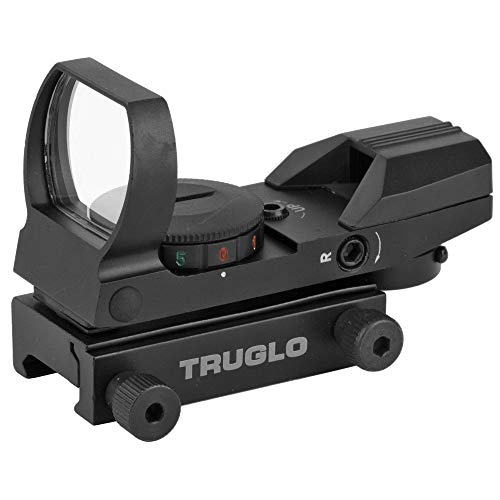 TRUGLO Rifle Scope 2 TRUGLO Dual Color Multi Reticle Open Red Dot Sight (TG8360B)