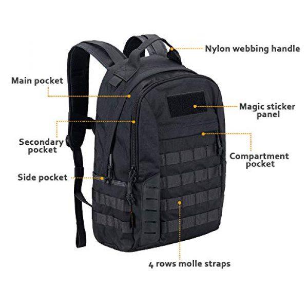 EXCELLENT ELITE SPANKER Tactical Backpack 4 EXCELLENT ELITE SPANKER Tactical Backpack Military Survival Rucksack 20L Capacity for Outdoor