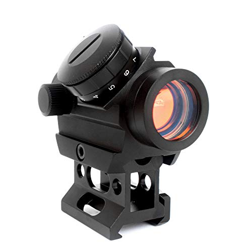Robin Hunting Rifle Scope 1 Robin Hunting Tactical 2 MOA Micro Reflex Red Dot Sight Rifle Scope with 1 Inch Riser Mount